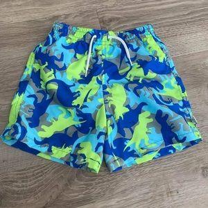 Flapdoodles Dinosaur Swimsuit